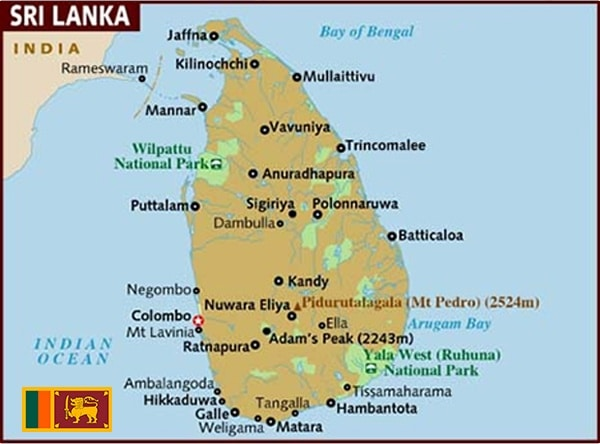 Sri-Lanka - Paper Laminated PP Woven Bags