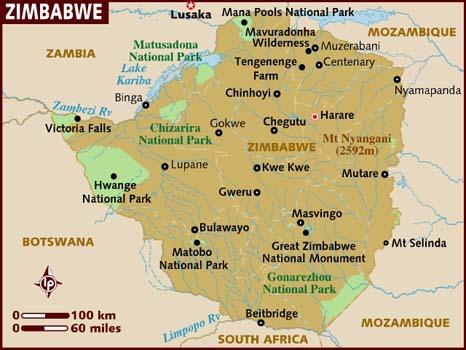 BOPP Back Seam Woven Bags in Zimbabwe