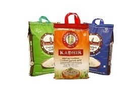 BOPP printed woven rice bags