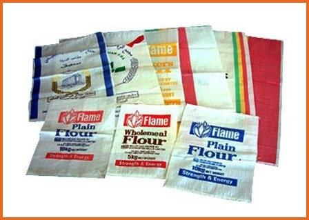 Paper Laminated HDPE bags