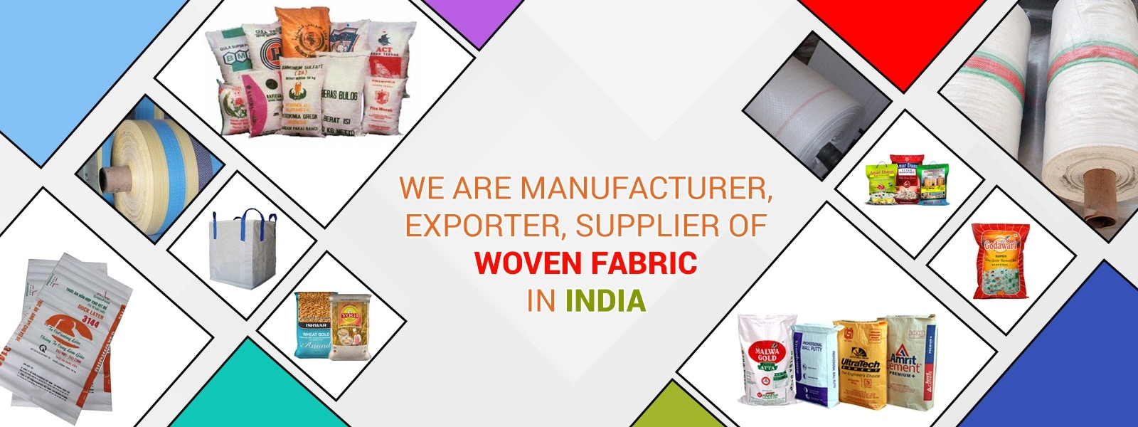PP HD Woven Sacks, Woven-Fabric-Manufacturers